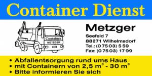 Containerdienst Metzger