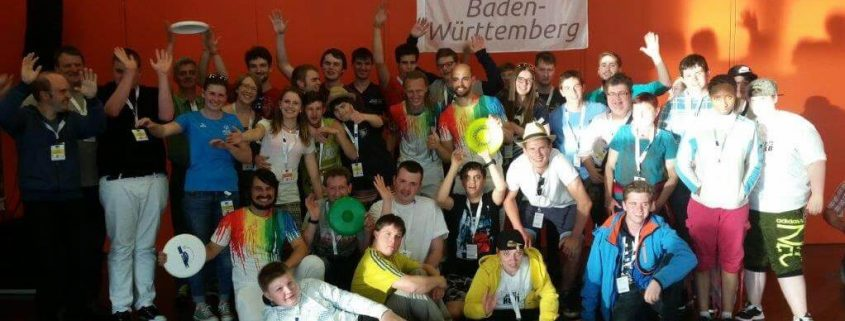 TSG Wilhelmsdorf SMB Unified Volleyball Landesspiele Offenburg Mai