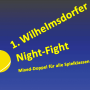 TSG Wilhelmsdorf Tennis Night Fight 1