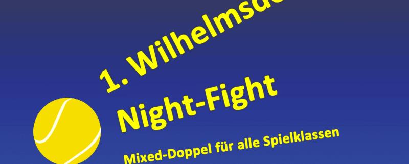 TSG Wilhelmsdorf Tennis Night Fight 1