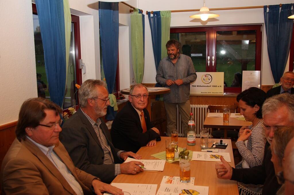 TSG Wilhelmsdorf Hauptversammlung Mai 2016