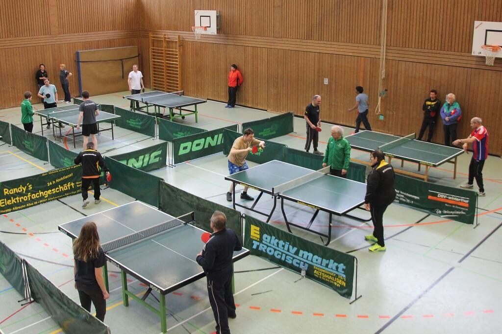 TSG Wilhelmsdorf SMB Tischtennis Turnier 2017