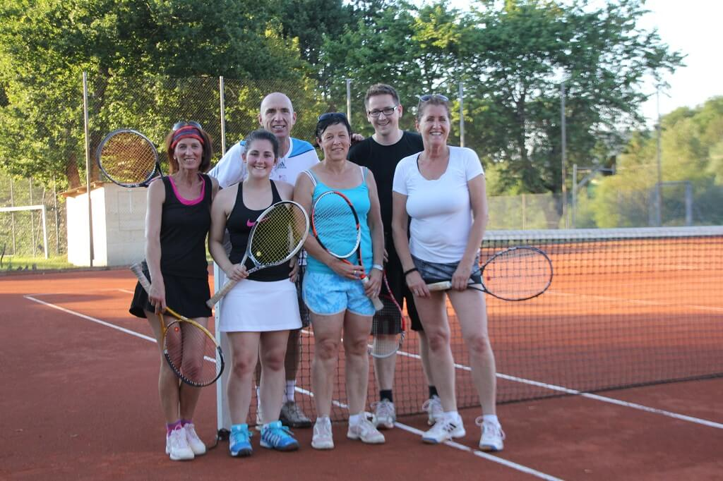 TSG Wilhelmsdorf Tennis Trainingsimpressionen 2016