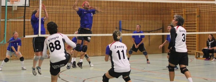 TSG Wilhelmsdorf Volleyball Mixed 1 Spieltag 2017