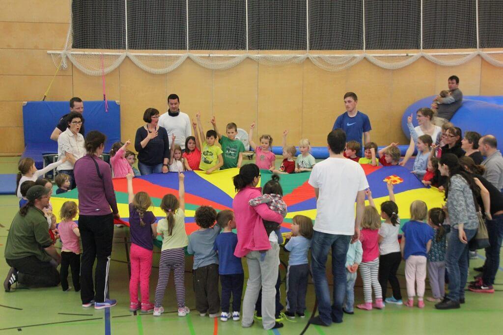 TSG Wilhelmsdorf JuKiTT Familien Sport Nachmittag 2017