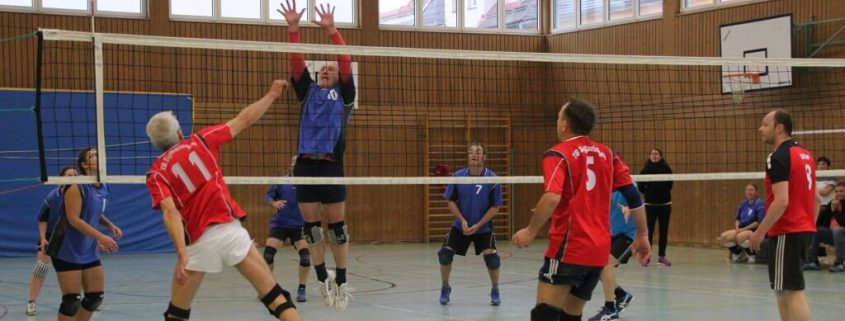 TSG Wilhelmsdorf Mixed Volleyball 2 Spieltag 2017