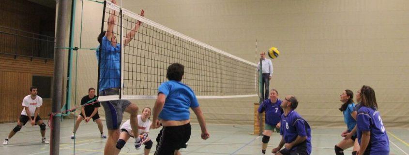 TSG Wilhelmsdorf Volleyball Pokalspiel