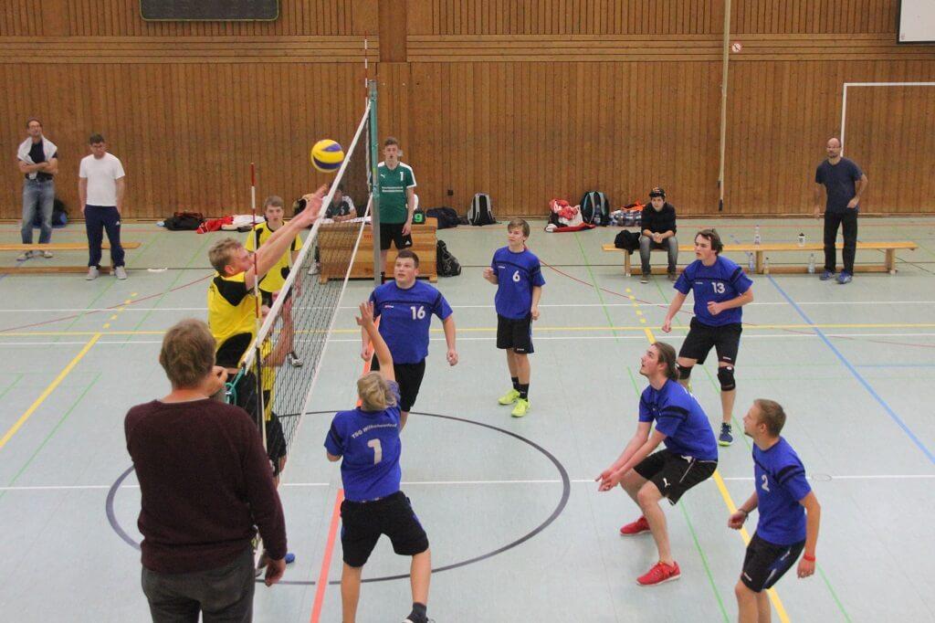 TSG Wilhelmsdorf Volleyball U20 Bezirksstaffel 2017