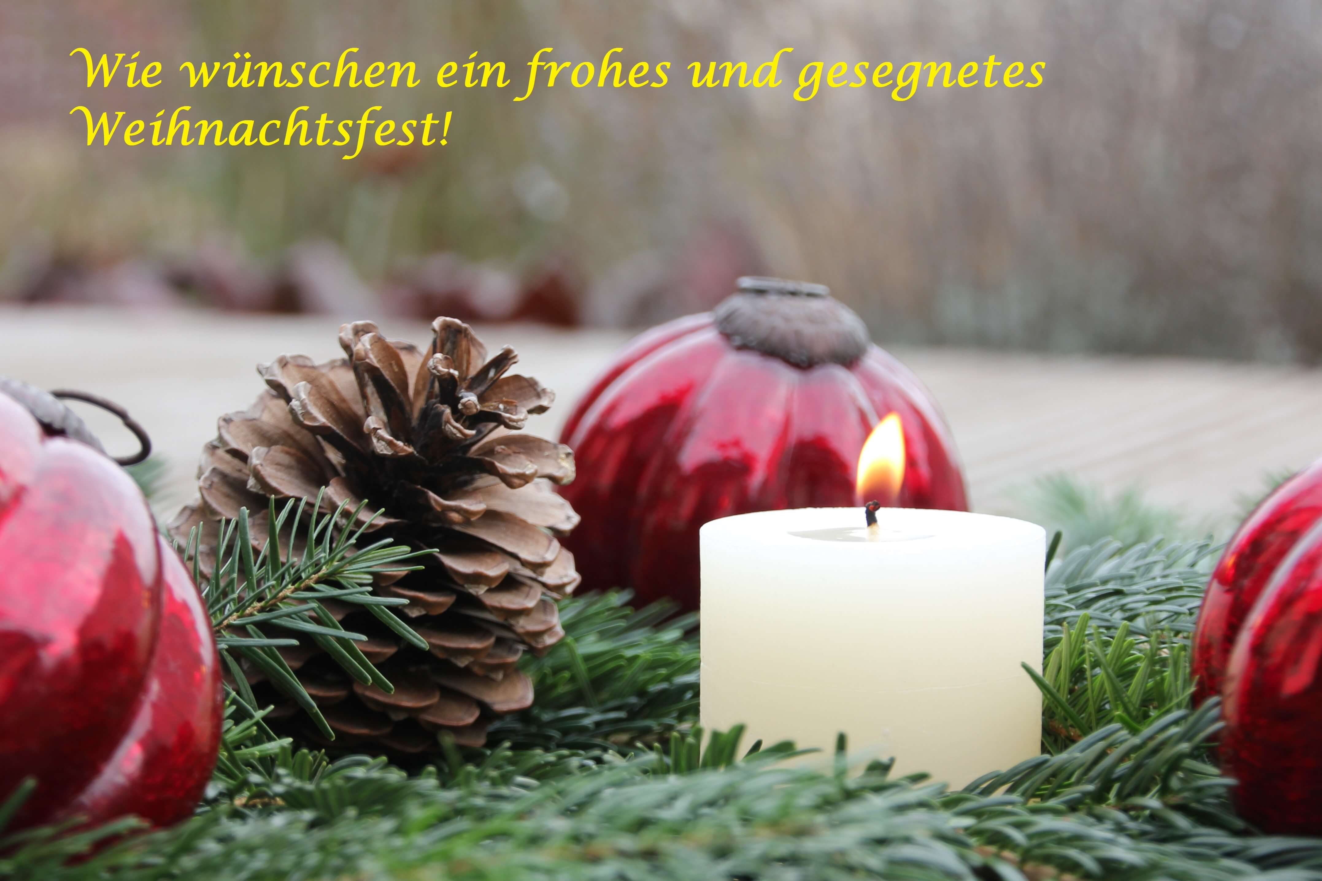 TSG Wilhelmsdorf Weihnachtsgruesse