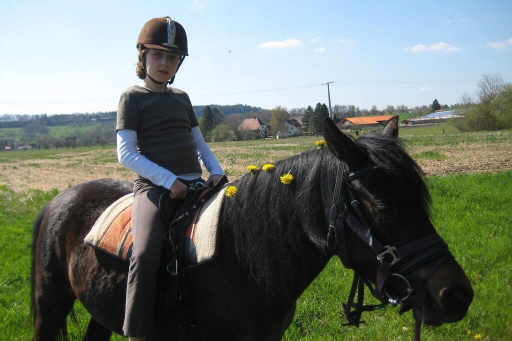 TSG Wilhelmsdorf Reiten Therapie