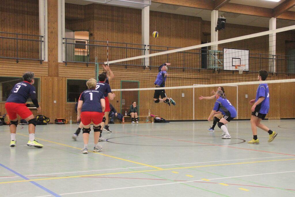 TSG Wilhelmsdorf Volleyball April 2018