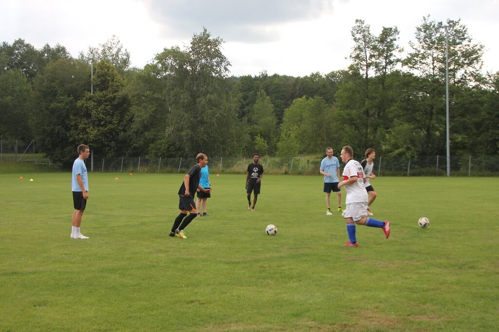 TSG Wilhelmsdorf SMB Unified Fussball Training mit Studenten 2018