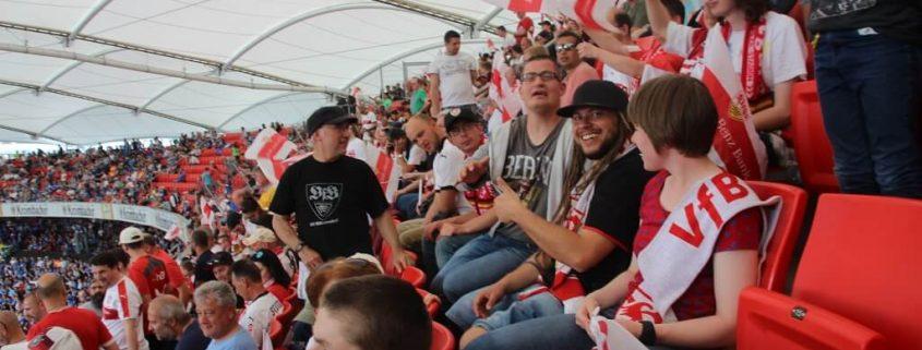 TSG Wilhelmsdorf integrativer Fanclub Stuttgart Fahrt 2018