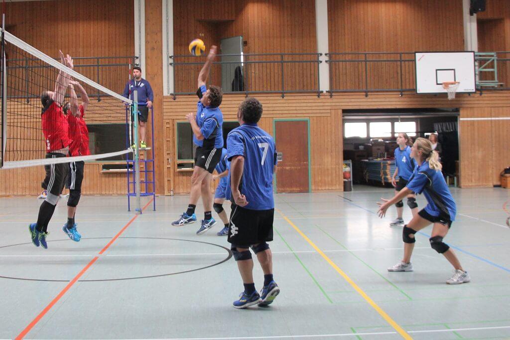 TSG Wilhelmsdorf Volleyball Oktober 2018