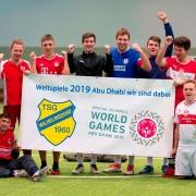 TSG Wilhelmsdorf SMB Fussball Vorbereitung Ruit 2018