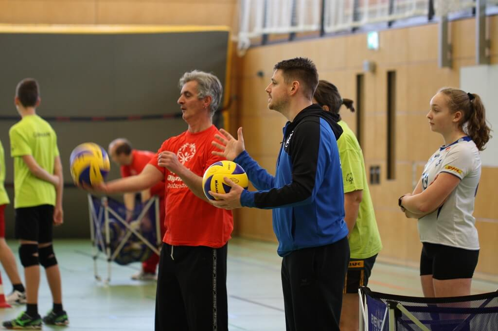 TSG Wilhelmsdorf SMB Unified Volleyball Haefler 2018