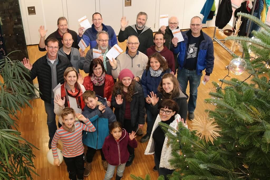 TSG Wilhelmsdorf Sportabzeichen Urkundenuebergabe 2018