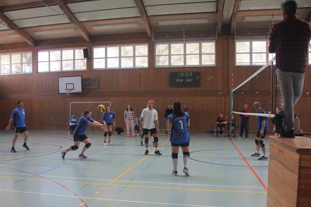 TSG Wilhelmsdorf Volleyball Spieltag Februar 2019
