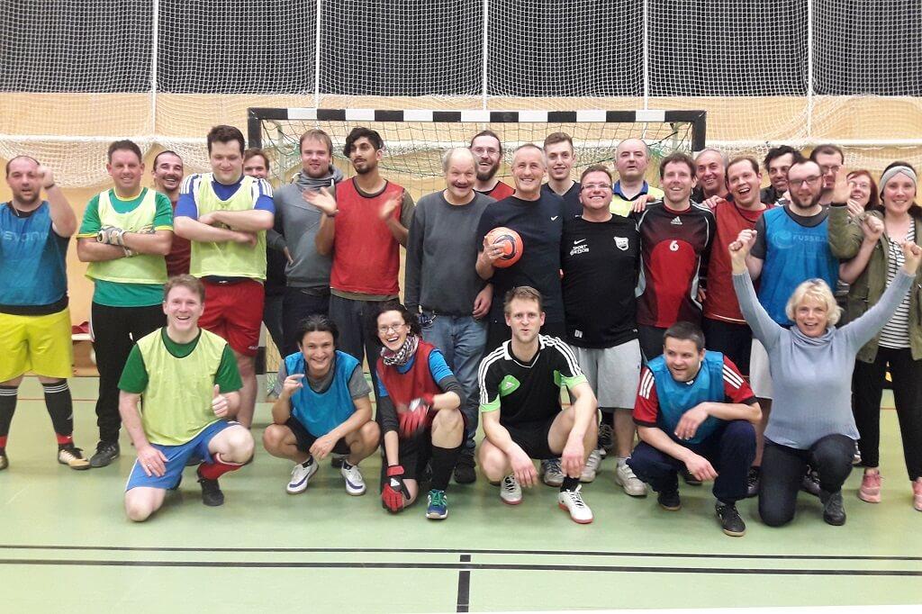 TSG Wilhelmsdorf SMB Unified Fussball Weltspiele nachgestellt 2019